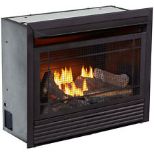 Duluth Forge Dual Fuel Ventless Insert  26,000 BTU, T-Stat Control Gas Fireplace