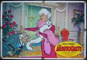 fotobusta GLI ARISTOGATTI The Aristocats ANIMAZIONE WALT DISNEY - Italia - fotobusta GLI ARISTOGATTI The Aristocats ANIMAZIONE WALT DISNEY - Italia
