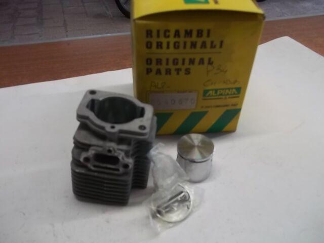 cilindro con pistone  originale  alpina castor  p34 *pesolemotors*