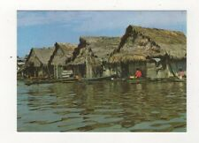 Native Floating Houses In River Iquitos Peru Postcard 781a