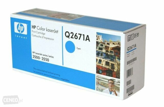 HP Q2671A Cyan 3500  GENUINE  Toner Cartridge  NEW