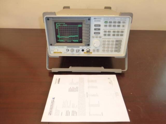 Agilent / HP 8596E 9 kHz to 12.8 GHz Spectrum Analyzer with Opts 004/041/053