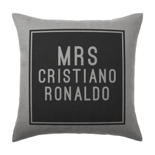Gift Cristiano Ronaldo Cushion Pillow Cover Case