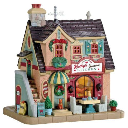 LEMAX Village de Noël Kathy/'s pittoresque cuisine #95513 lighted Building Shop