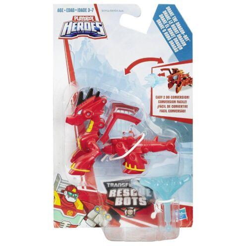 Transformers rescue bots mini-conservateurs drake le dragon-bot-nouveau instock