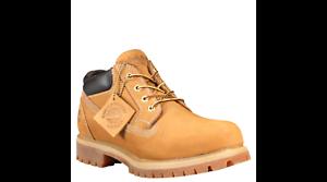 Cúal Electricista Planificado  Men's Timberland Classic OX Waterproof Work Shoe Wheat TB073538 | eBay