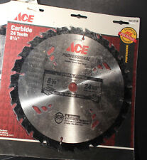 "Ace 2011716 8-1/4"" x 24 Tooth Carbide Circular Saw Blade (One Blade)  New"