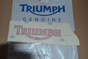 Triumph Daytona right hand tank decal transfer, pt. no. T2402422