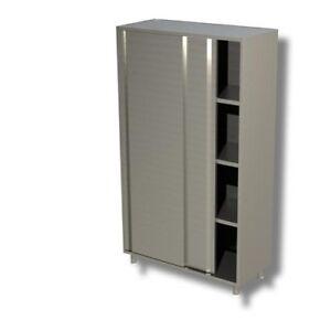 Gabinete-de-150x60x200-puertas-correderas-de-acero-inoxidable-304-restaurante-pi