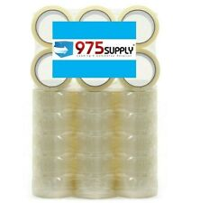 36 Rolls Boxcaronpacking Tape 975 Supply 35mil 2 X 55yd Crystal Clear
