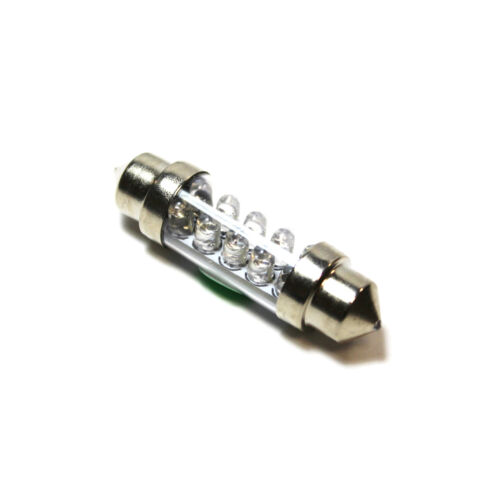 1x Green Ultra LED Festoon 264 42mm 12v Interior Light Bulb