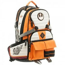 Official Star Wars Rebel Squadron Pilot Suit Up Full-Sized Laptop Backpack Bag