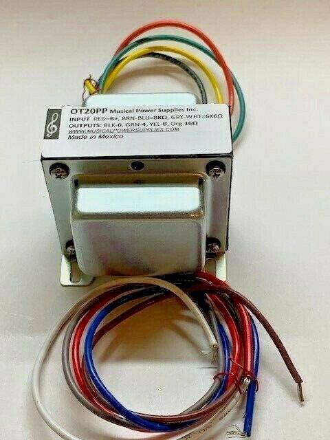 Ot20pp Hc87 Output Transformer 25va  U0026 8k  6k6 To 4  8  16 Ohm