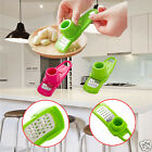 Multifunction Stainless Steel Slicer Pressing Garlic Slicer Cutter Shredder New