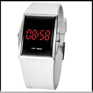 rivenditore di vendita 2a5ff 67223 Details about Clock Digital LED Wrist Man Woman Child or older or blind-  show original title