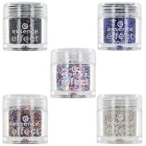 Details About Essence Effect Nails Nail Art Glitter Beads Lot Of 5 Shades Show Original Title