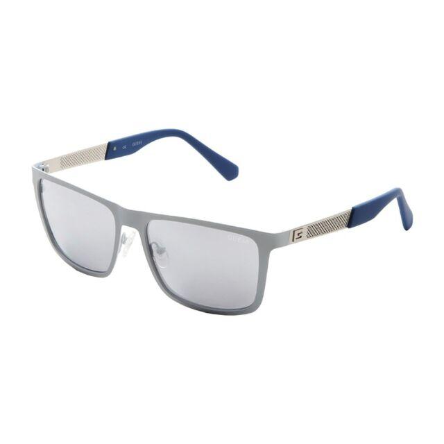 Guess Sunglasses GU 6842 White  Mirror Lens Unisex 57-16-140