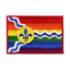 Louis Gay Pride Flag Embroidered Iron On Patch St