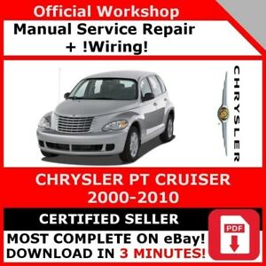 factory workshop service repair manual chrysler pt cruiser 2000 2010 rh ebay com 2007 PT Cruiser Owner's Manual 2002 PT Cruiser Shop Manual