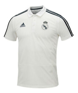 9a685b81 Adidas Real Madrid Polo Tee (CW8669) Soccer Football T-Shirt Top Tee ...