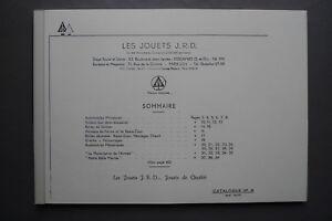 Catalogue fac-similé Les Jouets JRD de Mai 1937