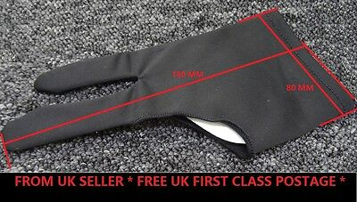 Tireless Black 2 Finger Anti-fouling Glove For Artist Drawing/pen Graphic Tablet Pad Graphics Tablets/boards & Pens Keyboards, Mice & Pointers