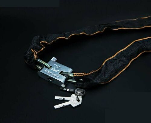 Scooter Motorbike Square Link Lock Chain in Manganese Steel The Bicycle