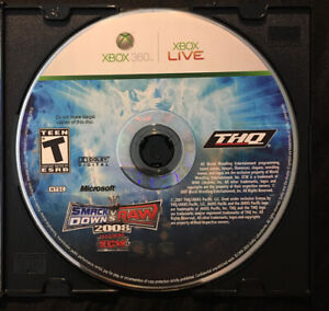 WWE-SmackDown-vs-Raw-2008-Featuring-ECW-Disc-Only-Fast-Shipping-Xbox-360-2007