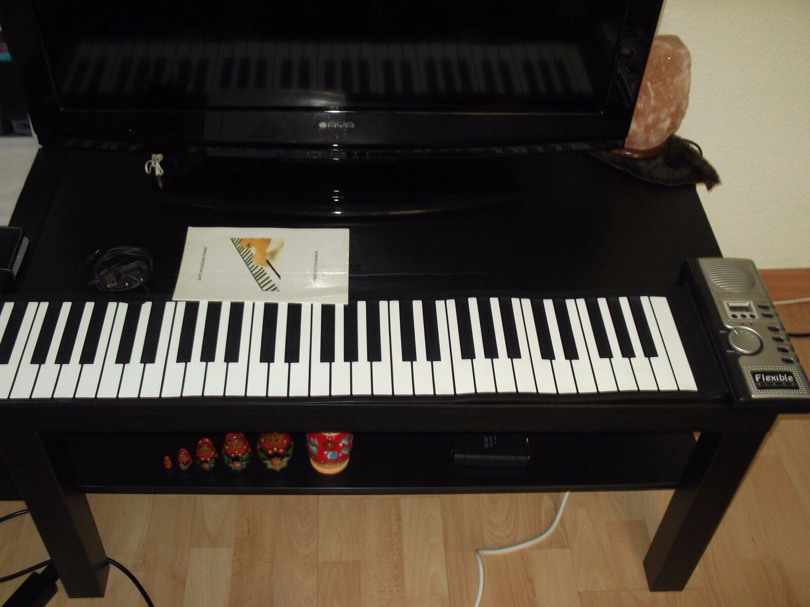 SOFT KEYBOARD PIANO TAPIS 5 OCTAVE NEUF