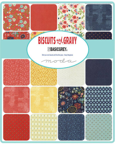 BISCUITS /& GRAVY by Basic Grey for Moda Panel M3048012