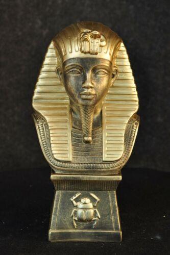Ägyptische Figur Tutanchamun Pharao Statue Dekofigur Büste Gottheit Rar Anubis