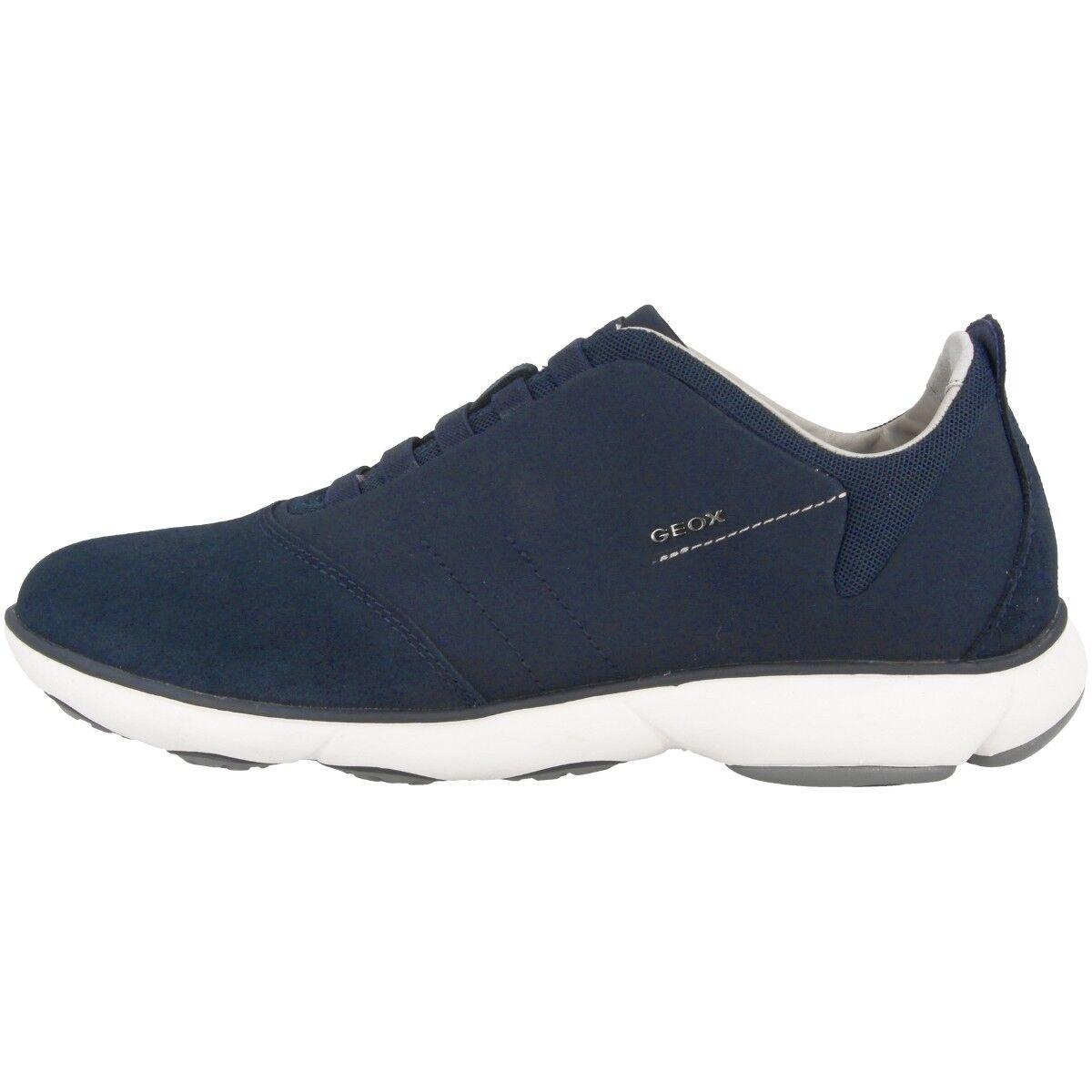 Geox Uomo U Nebula B Scarpe Uomo Geox Sneaker Casual Basse Blu Marino U52D7B0ZB22C4002 67b2e6