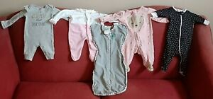 LOT-OF-5-NEWBORN-TO-3-MONTH-OUTFITS