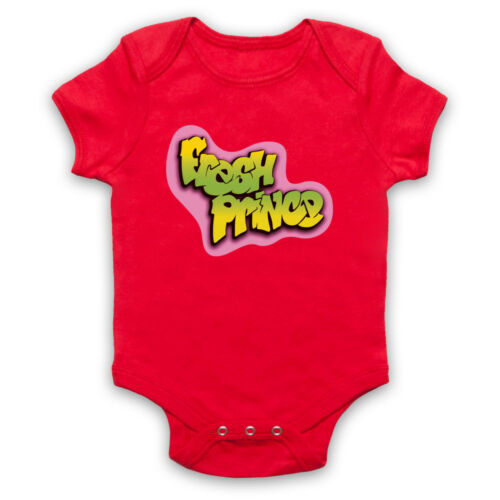 BEL AIR FRESH PRINCE THE UNOFFICIAL LOGO TV SHOW SMITH BABY GROW BABYGROW GIFT