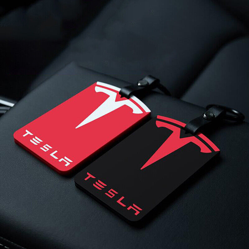 Car Key Card Holder Silicone Card Cover Key Case Protector for Tesla Model 3 F2