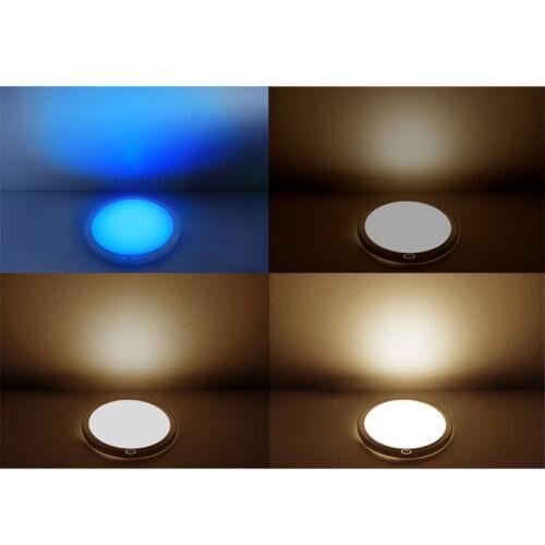 Dimmbar Wohnwagen Leuchten 12v LED Deckenlampen Speicherfunktion Warmweiß//Blau