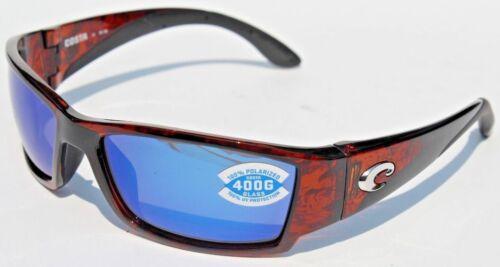 COSTA DEL MAR Corbina POLARIZED Sunglasses Tortoise//Blue Mirror 400G NEW $199