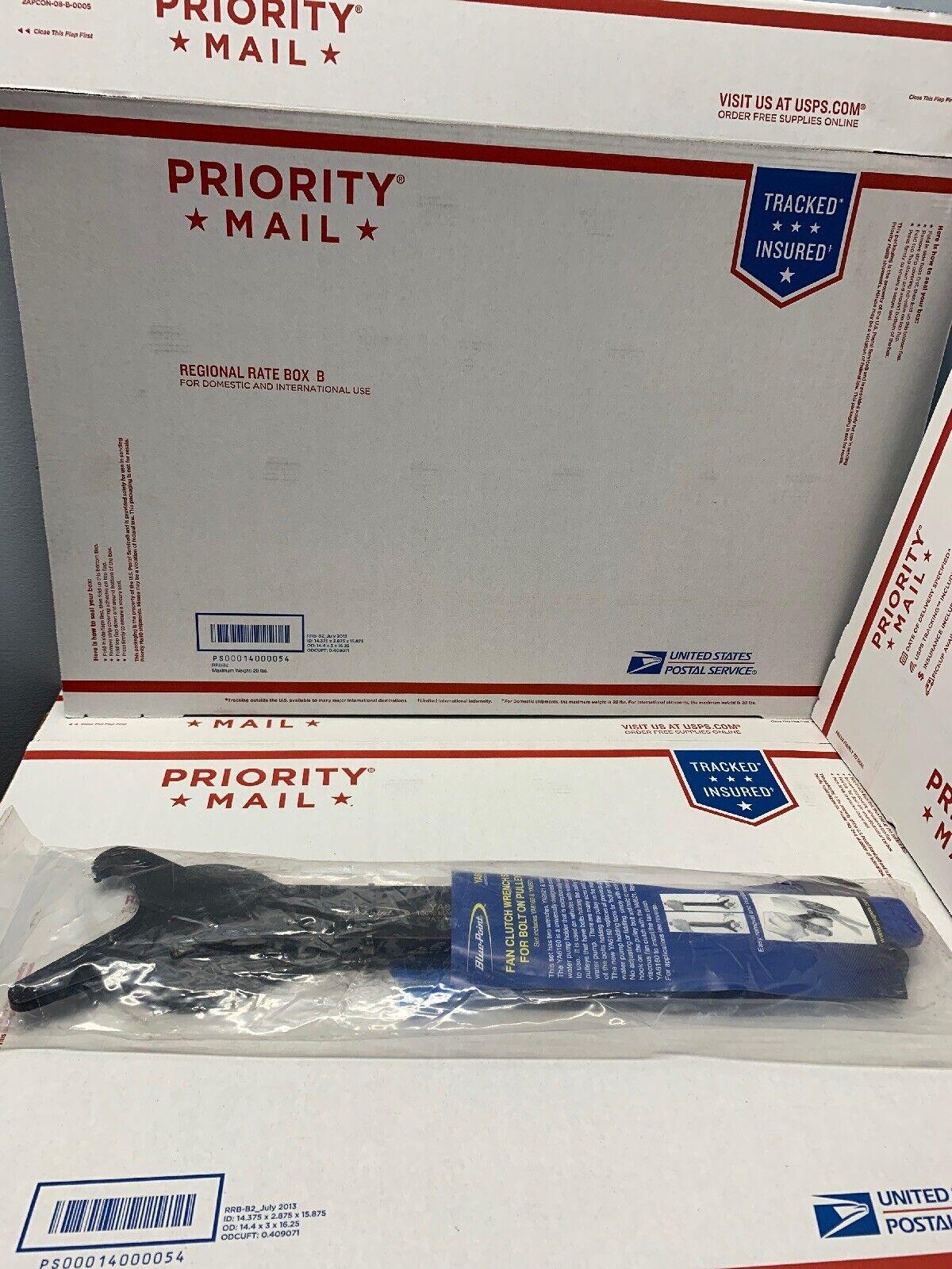 Blau Point 2pc Fan Clutch Wrench Set For Bolt On Pulleys YA6120 New