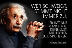 Albert-Einstein-Spruch-15-Blechschild-Schild-gewoelbt-Metal-Tin-Sign-20-x-30-cm