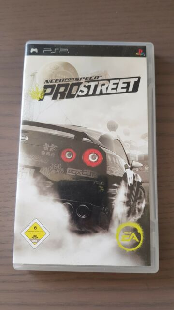 Need For Speed: ProStreet (Sony PSP, 2008)
