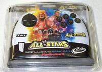 Wwe All Stars Brawlpad Ps3 Wireless Controller Mad Catz Hulk Hogan John Cena