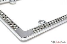Chrome Diamond Bling Custom Metal License Plate Frame for Auto-Car-Truck-SUV