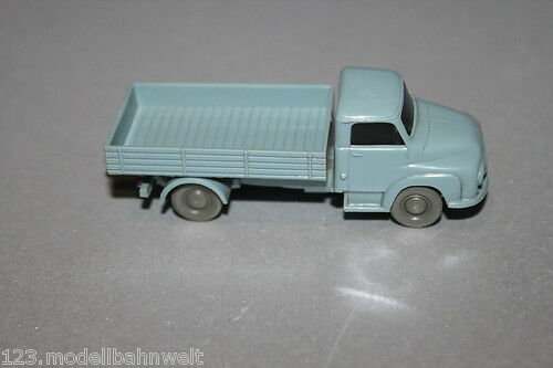Wiking 466 FORD CAMION 2500 Pianale VERDE BLU 1:87