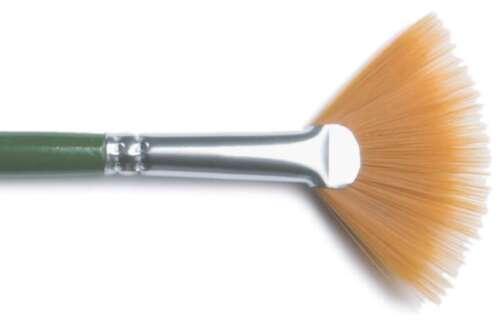One Stroke Brush Fan Size 4 028995011962