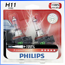 Philips Genuine H11 12362XVB2 Upgrade X-tremeVision Halogen Light Bulb, Germany