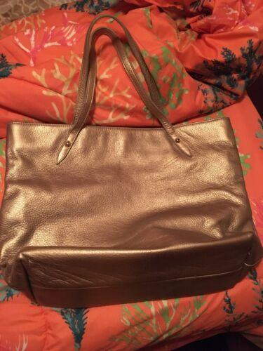 Posse Large Gold Tote  Bag