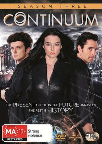 1 of 1 - CONTINUUM SEASON 3 : NEW DVD