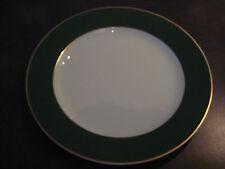 Grande assiette présentation porcelaine BERNARDAUD Limoges Kent vert comme NEUVE