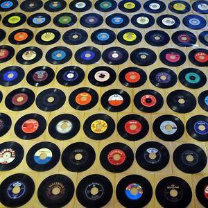 100 Transparente Schutzhüllen Paket Sammlung Musik-juke-box Herzhaft 100 Vinyl-singles Automaten