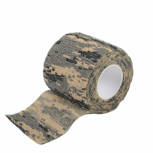 3 Pack– Camouflage Self Adhesive Cling Tape Multiple Colors By Sirius Survival